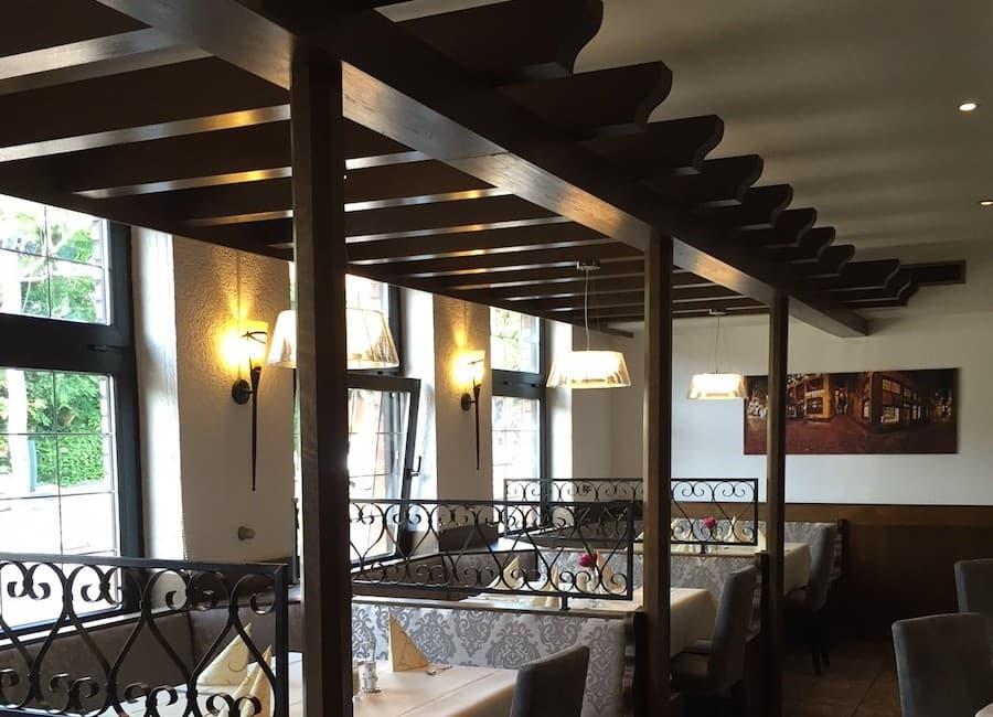 Auf dem Bild ist das Restaurant Germania zu sehen.
